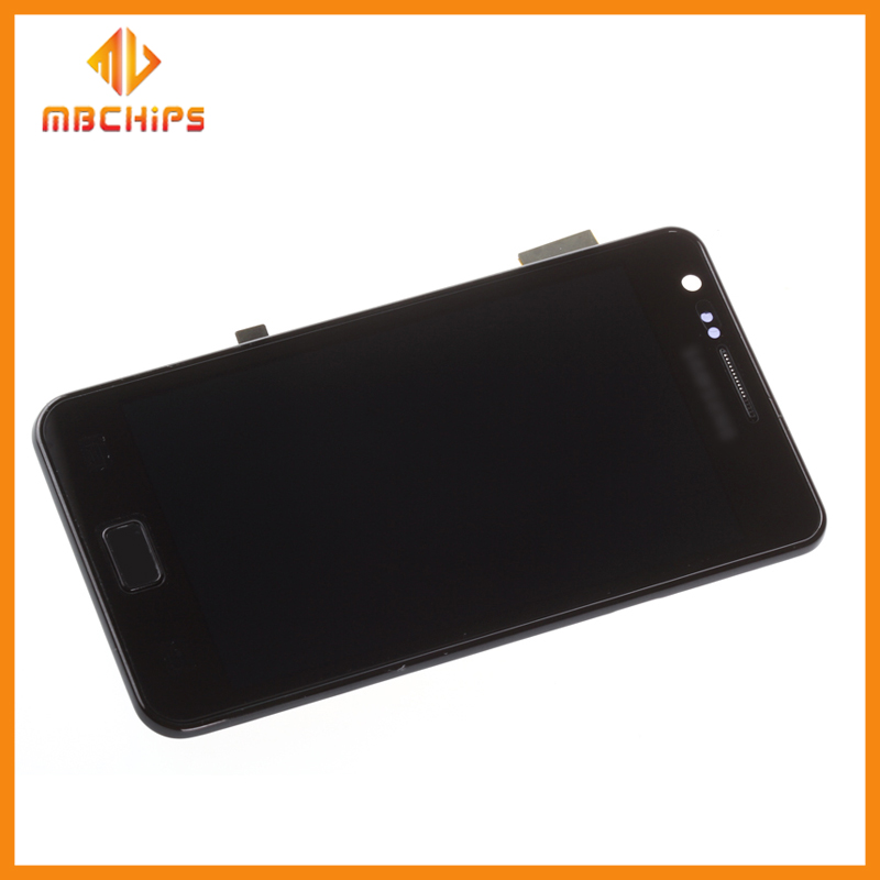 100% quality lcd for samsung galaxy s2 digitizer screen for samsung galaxy s2 lcd repair parts
