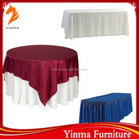 Factory wholesale fancy wedding table cloths