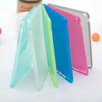 Transparent mode case for cell mobile phone case for Ipad mini 2 cover