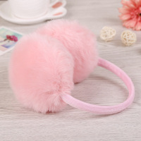 Winter Big Size Artificial Fox Fur Earmuffs Warm Ear Cover Ear Muffs