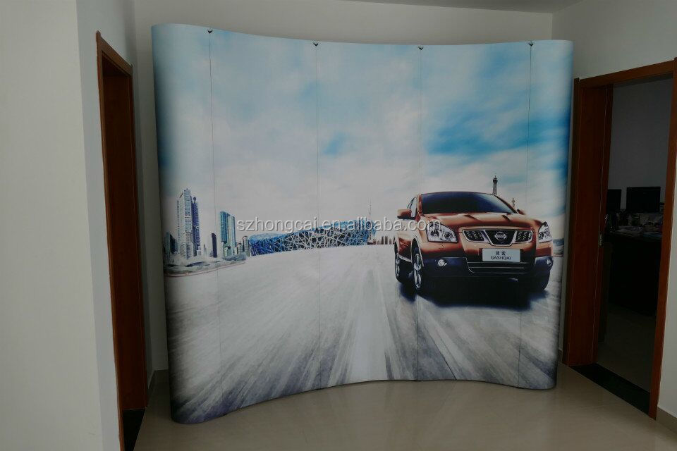 Easy to Assemble and Disassemble Advertising Pop Up Spring Display