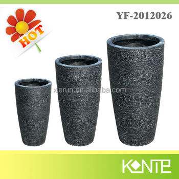 Factory supply bulk fiberglass plant pot