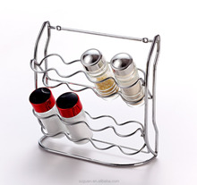 kitchen rack Magnetic Spice Jar tea cup rack