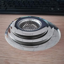 304 Stainless Steel Wire Mesh Sink Strainer For Kitchen Sink