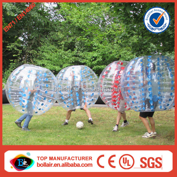 New concept 100% TPU clear inflatable rubber ball