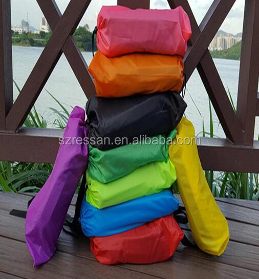 Latest air sofa Lay Bag Inflatable Air Cushion Sofa waterproof for outdoor Camping Beach sofa Lounger Bed Lazy