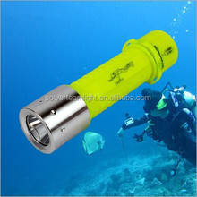 Outdoor searching flashlight torch and 10 meters diving flashlight