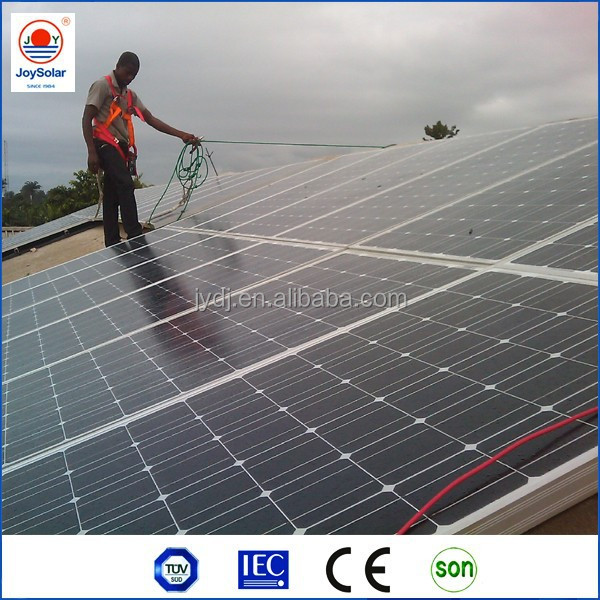 High power 250w 260w 300 watt 320w solar panel manufacturer for home solar systems