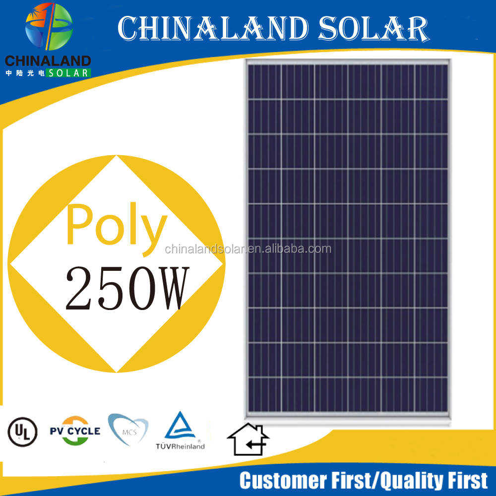 solar panels 250watt poly solar cell pv modules 250w solar panel for home solar system