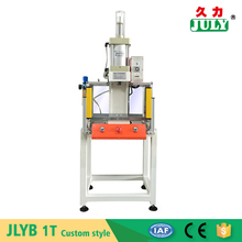 China JULY supplier custom transparent shield 1 ton pneumatic press machine for hole punching