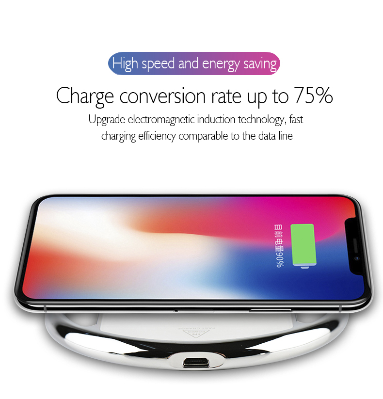 2018 Newest Portable Qi wireless charging dock, qi wireless charger charging pad