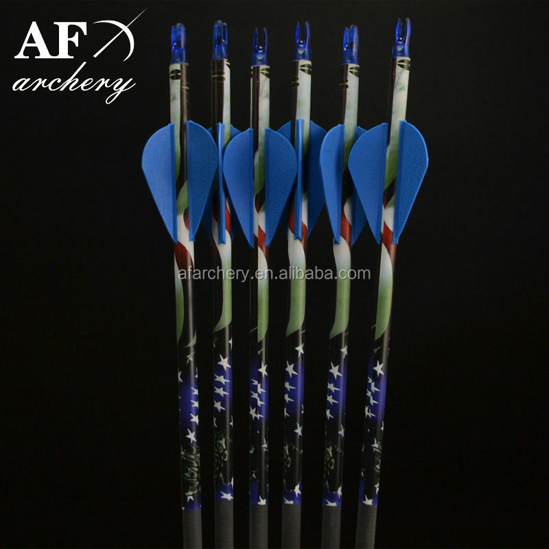 "3"" Plastic Steel Broadheads Carbon shafts Arrows for Outdoor Sport Hunting Archery Shooting Compound Bow Factory Supplies"
