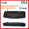 192 channels wireless battery stage cheap dmx controller