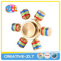 Newest Colorful Metal Fidget Hand Spinner