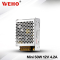 New product Factory outlet mini-size 12v ac to 220v dc 50w smps