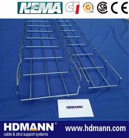 Galvanised metal Wire Mesh Cable Tray Importer