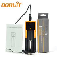 2016 New Design Boruit C1 Rechargeable Battery Charger Li-ion/Ni-MH LCD Universal Charger
