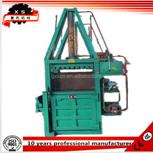 DB-10T vertical hydraulic baler for waste paper , plastic, cartoon,straw,hay packing