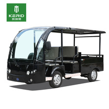 Chinese Low Speed Electric Delivery Van With Cargo Box Mini Truck