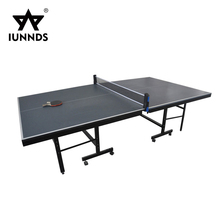 Best price indoor foldable table tennis stand used ping pong tables set for sale