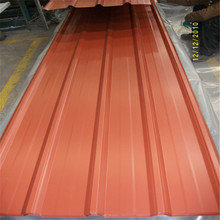 55% Aluminium GL roofing sheet and Colour Corrugated Steel