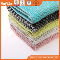 Factory High Quality Multicolor Knitted Scarf