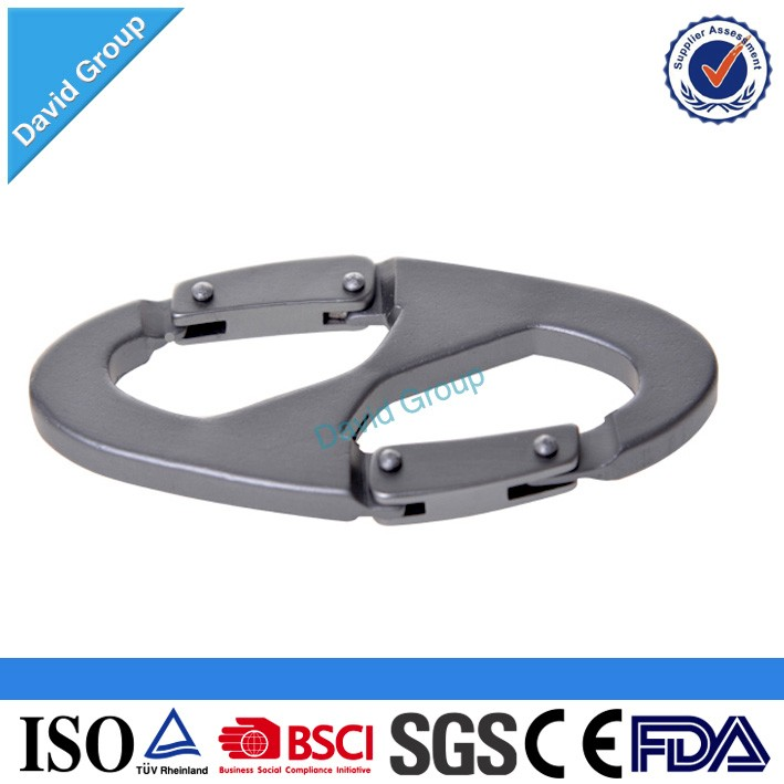 Alibaba Top Supplier Wholesale Custom Different Calabash Shaped Carabiner 2""
