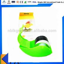 Vegetable slicer / roller cutter / rolling herb mincer as seen on TV