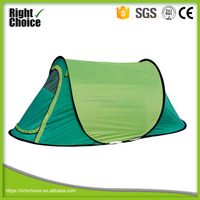 Waterproof 2 Person Single Layer Pop Up Tent/ 2 Seconds Tent with 1 door and 1 vent