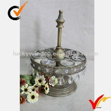 Small metal candle holder tealight holder