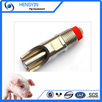 China 20 years manufacturer farming equipment pig nipple drinker for sale