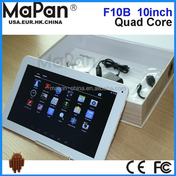 Very Cheap Quad Core 10 inch 1G DDR 8GB Android 4.4 chinese OEM Tablet PC MaPan F10B