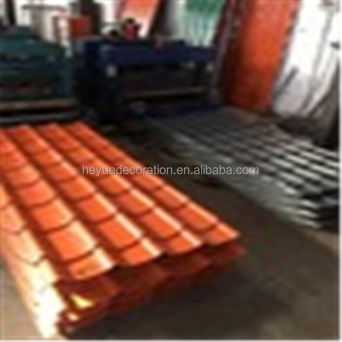 2017 China factory construction material pioneer roof tile