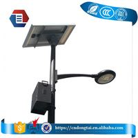 7m post DC 24V aluminium shell solar 90w LED street light lamp LYALSST7MA800