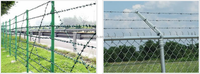 barbed wire fencing price / barbed wire length per roll / barbed wire weight per meter / from Yaqi factory