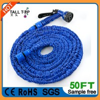 Stretch/expanding garden rubber Water Hose 50FT