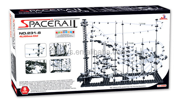 Intelligence Assembling Kids Rail Toy DIY Space Rail