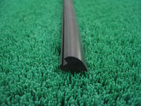 2013 hot sale flock lined window rubber