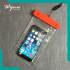 Smartphone waterproof zipper bag for cell phone