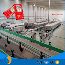 Automatic tomato processing plant / tomato paste production line