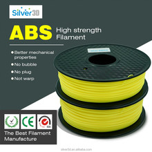 1.75mm 3D printing printer filament PLA/ABS/PETG/flexible filament with transparent Plastic