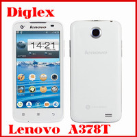 Original Unlocked 4.5 inch Lenovo A378T Dual Core MTK6572 Android 4.2 Mobile Phone 512MB RAM 4GB ROM 5MP Single Sim Card GSM