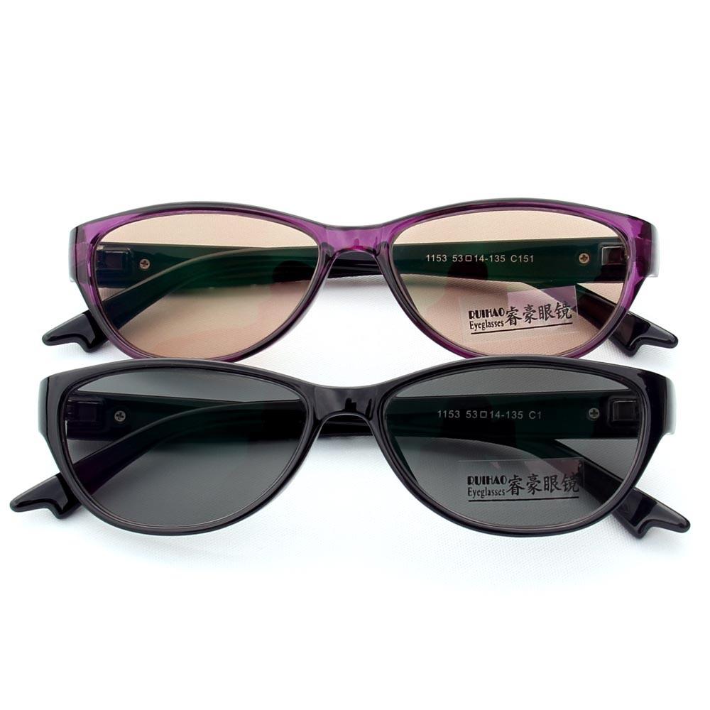 153afd2ad85 Get Quotations · Photochromic Sunglasses Transition Glasses Change Color  Eyewear TR90 Frame Oculos de sol Sun Glasses Eyeglass Lens