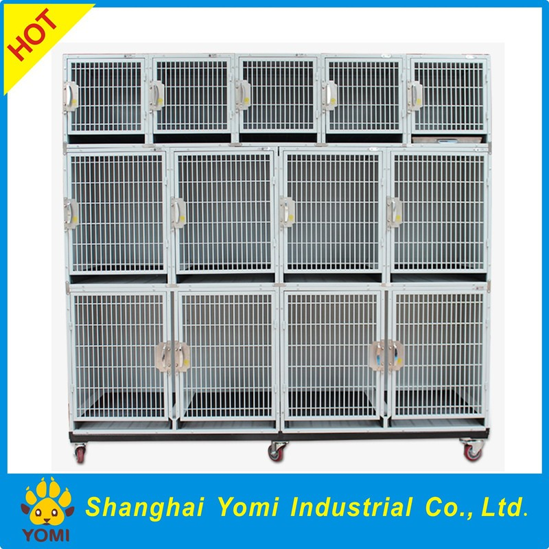 2016 hot sale modular strong stainless steel dog cage