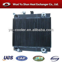 international and professional intercooler for construction vehicle/ vehicle radiator/ road roller intercooler