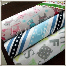 hot sale 100% cotton brushed flannel cloth