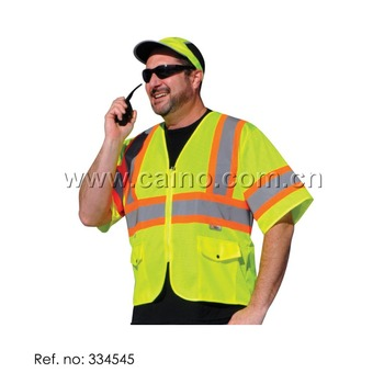Class 3 High Contrast DOT Safety Vest Reflective Vest