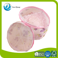 multifunctional foldable washing mesh laundry bag for bra