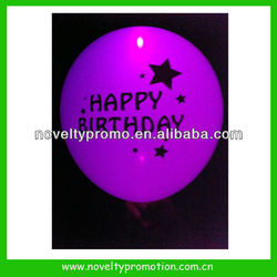 Custom Logo Printed LED Glowing Balloons