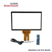 "Cheap 15.6"" multi touch screen overlay ATM PCAP touch screen"